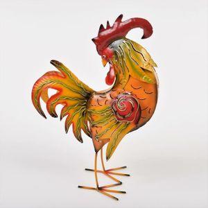 statue coq achat vente statue coq pas cher les soldes sur cdiscount cdiscount. Black Bedroom Furniture Sets. Home Design Ideas