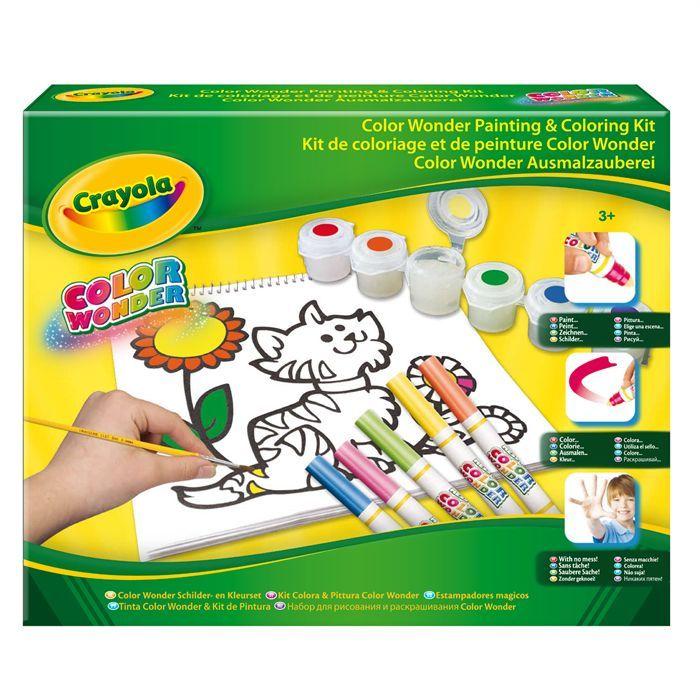 crayola kit de coloriage achat vente kit de dessin crayola kit de coloriage cdiscount