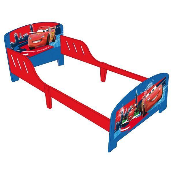 Lit grand mod le cars rouge bleu achat vente for Lit zodiac 90x190