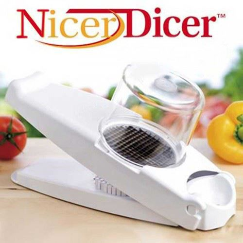 Nicer dicer coupe legume facile achat vente mandoline nicer dicer coupe legume fa cdiscount - Coupe legume nicer dicer ...