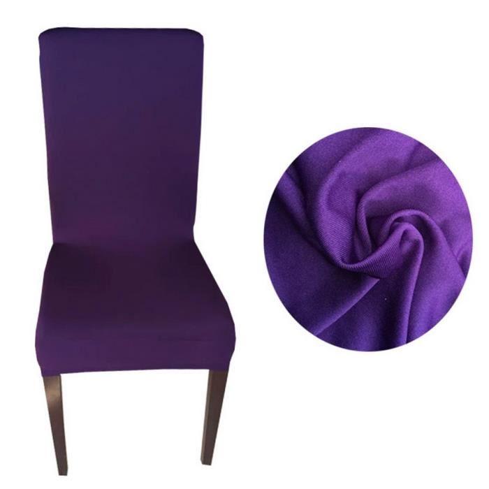 2 pcs housse chaise couverture si ge couverture pure for Housse de chaise de bar