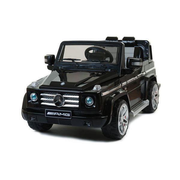 mercedes g55 amg noir voiture lectrique enfant achat vente voiture enfant soldes. Black Bedroom Furniture Sets. Home Design Ideas