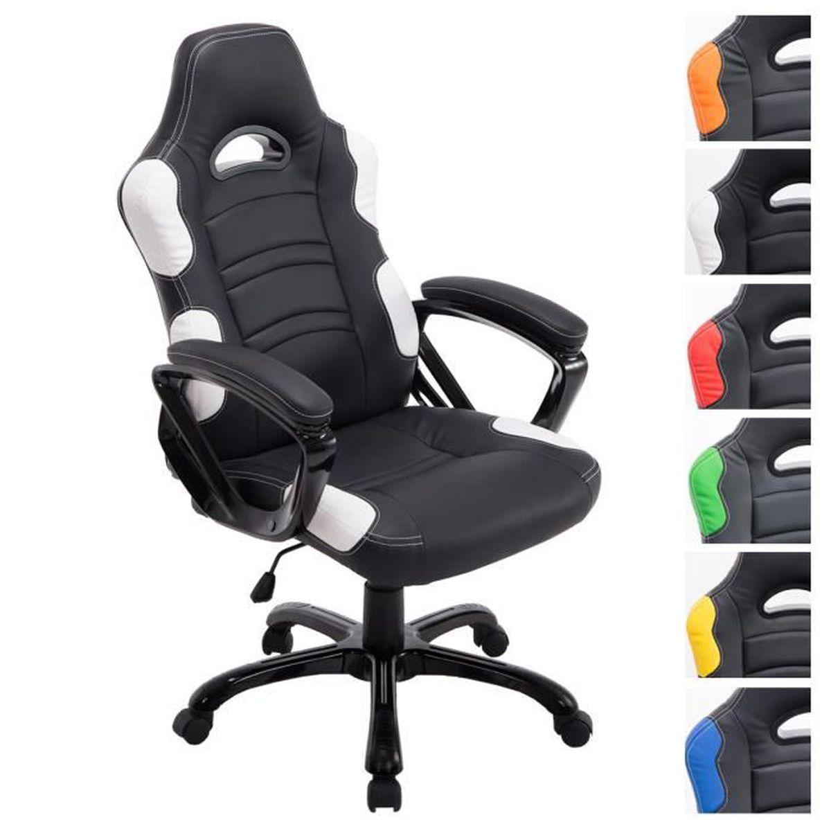Clp fauteuil de bureau ricardo xl r glable en hauteur 47 57 cm capacit d - Chaise de bureau reglable en hauteur ...