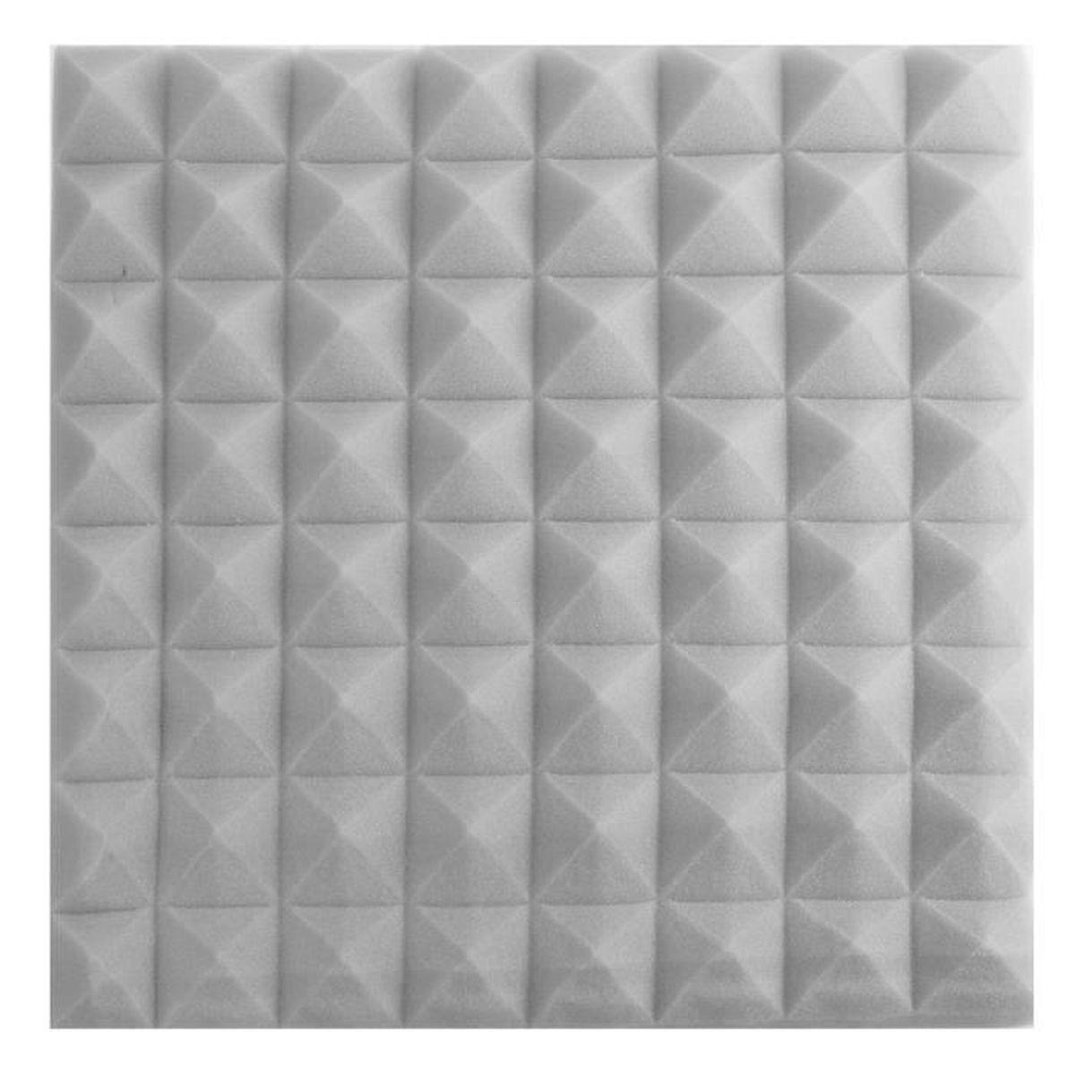 tempsa acoustique insonorisation mousse ponge bruit absorption studio gris clair rev tement. Black Bedroom Furniture Sets. Home Design Ideas