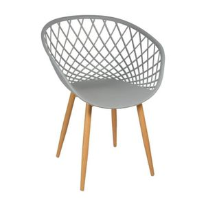 CHAISE Chaise ZINA gris