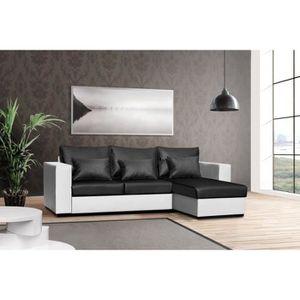 petit canape convertible achat vente petit canape convertible pas cher cdiscount. Black Bedroom Furniture Sets. Home Design Ideas