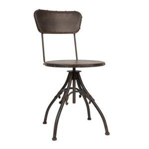 chaises metalliques industrielles - achat / vente chaises ... - Chaise Metal Industriel Pas Cher