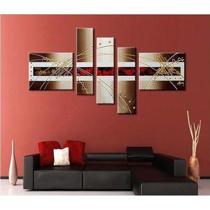 maison r tableau art abstrait  toiles