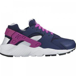 BASKET Nike - Air Huarache Run - Enfants (GS) - Bleu fonc