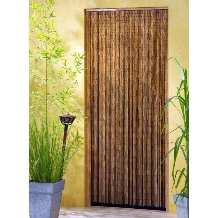 Rideaux de saigon en bambou achat vente rideau de - Rideaux de porte en bambou ...