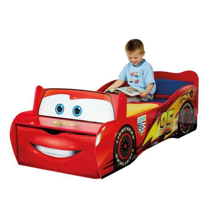 Lit voiture 70x140cm design Disney Cars Achat / Vente lit complet