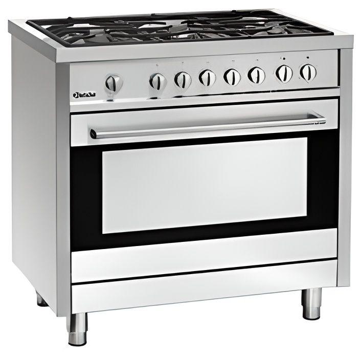 Cuisini re gaz 5 feux vifs achat vente cuisini re piano prix bas - Cuisiniere gaz 5 feux four gaz ...