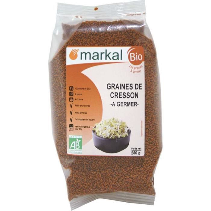 markal graines de cresson germer achat vente graines arachides markal graines de cresson. Black Bedroom Furniture Sets. Home Design Ideas