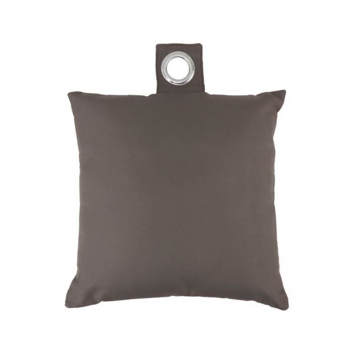 coussin 40x40 cm dehoussable marron achat vente. Black Bedroom Furniture Sets. Home Design Ideas