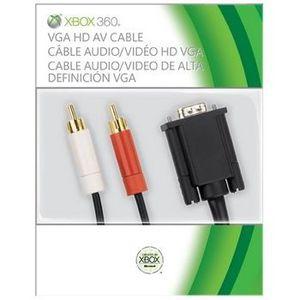 CÂBLE JEUX VIDEO Câble VGA noir / Accessoire console XBox360