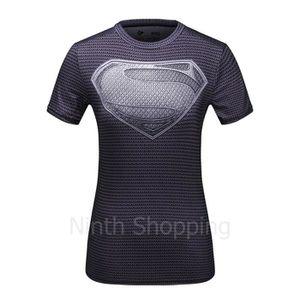 T-SHIRT T-shirt à Manches courtes Compression Super hér...