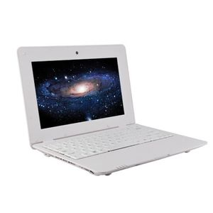 NETBOOK Topshows NET100 10 pouces Netbook Android 4.4 Blan