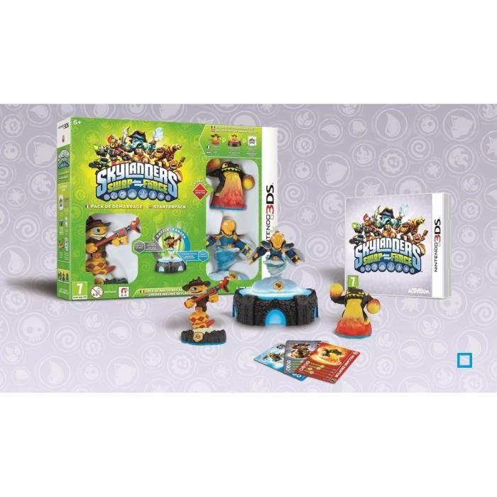 JEU 3DS Pack de Démarrage Skylanders Swap Force Jeu 3DS
