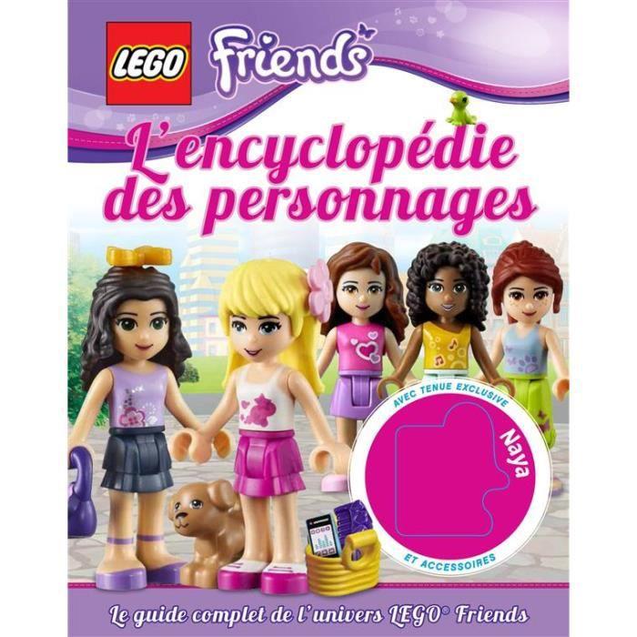 Lego friends l 39 encyclop die des personnages achat vente livre catherine saunders huginn - Jeux lego friends gratuit ...