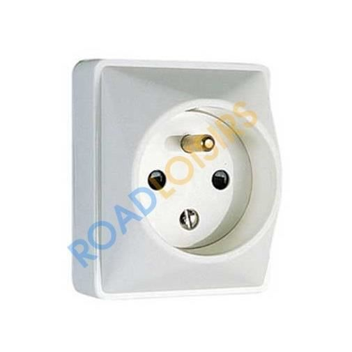 prise lectrique murale 220v 10 16 a oth o blanc achat