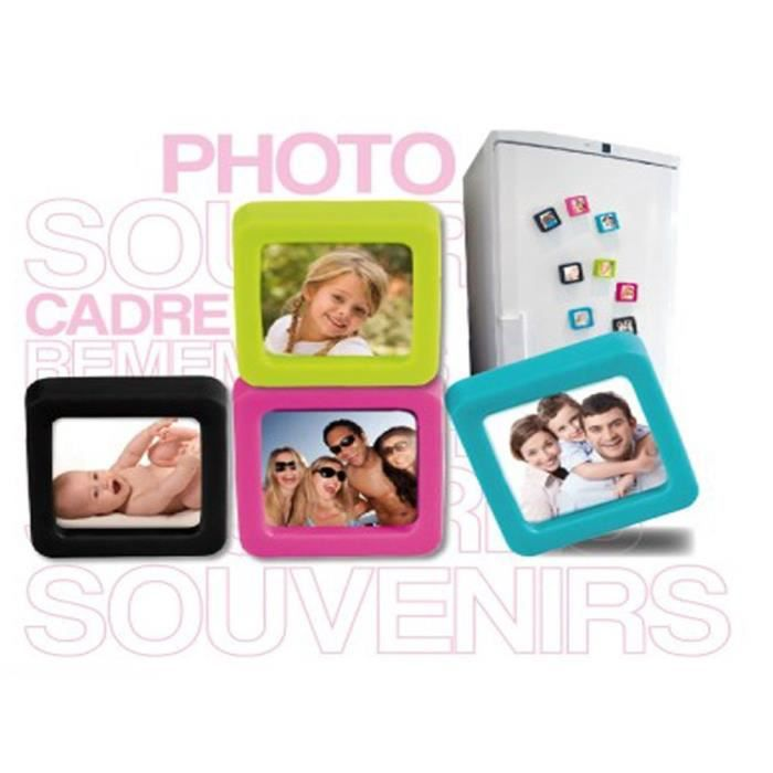 cadre photo magn tique color achat vente cadre photo silicone cdiscount. Black Bedroom Furniture Sets. Home Design Ideas