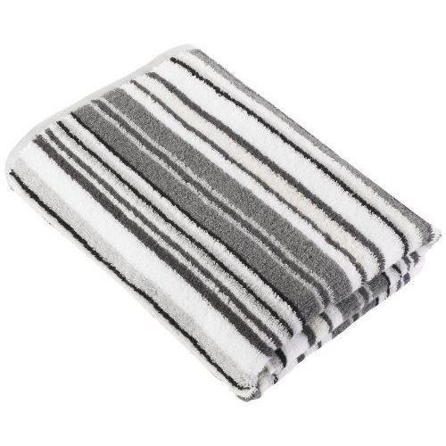 decotex decur3sb urbanite grande serviette de bain coton de turc argent noir 90 x 150 cm achat. Black Bedroom Furniture Sets. Home Design Ideas