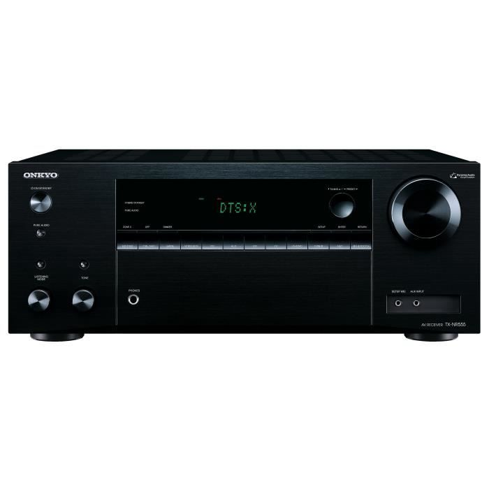 onkyo tx nr555 ampli tuner home cin ma 7 2 3d ready wi fi. Black Bedroom Furniture Sets. Home Design Ideas