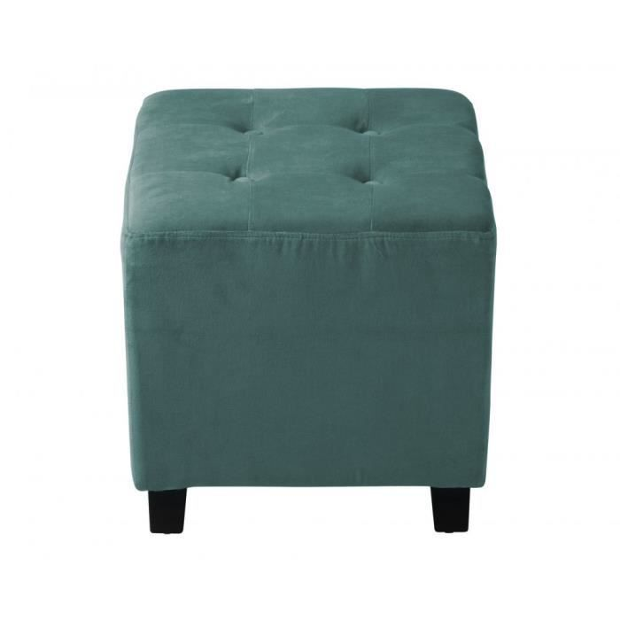 pouf capitonn velours bleu azur am lie achat vente pouf poire velours cdiscount. Black Bedroom Furniture Sets. Home Design Ideas