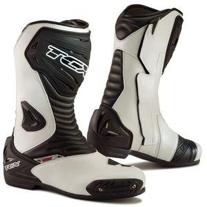 TCX bottes moto S Sportour Evo blanc noir