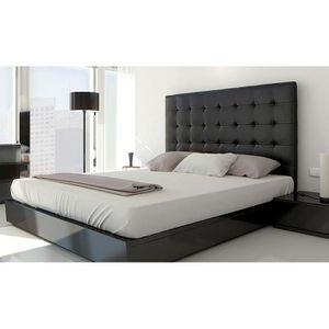 t te de lit 140cm achat vente t te de lit 140cm pas cher cdiscount. Black Bedroom Furniture Sets. Home Design Ideas