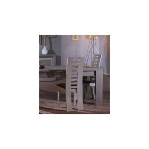Chaise de salle manger leana coloris teck ce achat for Chaise salle a manger hauteur assise 50 cm
