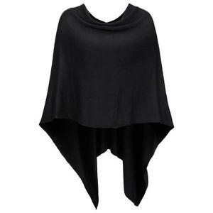 Poncho cape femme noir achat vente poncho cape femme noir pas cher soldes cdiscount - Poncho femme noir ...