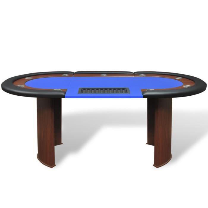 tables de poker et de jeux table poker avec lieu de. Black Bedroom Furniture Sets. Home Design Ideas