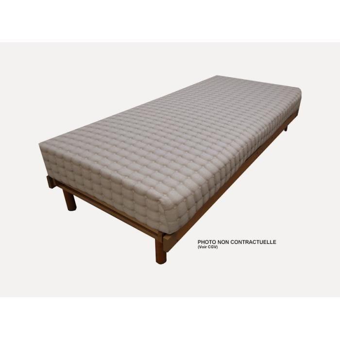 matelas latex riviere 150x200 cm achat vente matelas cdiscount. Black Bedroom Furniture Sets. Home Design Ideas