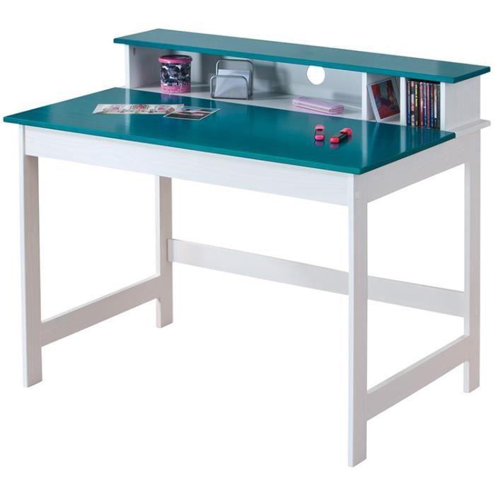 bureau enfant p trol dim 110 x 68 3 x 89 9 cm achat vente bureau b b enfant soldes. Black Bedroom Furniture Sets. Home Design Ideas