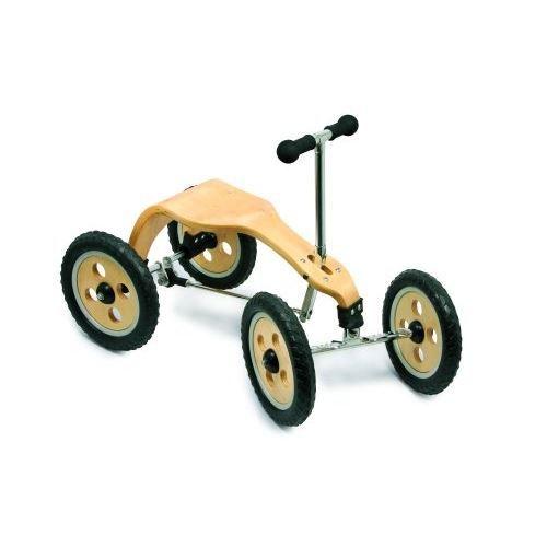 tricycle cyclorameur happyrider en bois achat vente tracteur chantier cdiscount. Black Bedroom Furniture Sets. Home Design Ideas