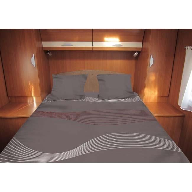 Midland lit tout fait 140x210 cm achat vente pack for Absolument maison linge de lit