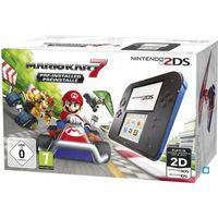 CONSOLE 2DS Nintendo 2DS Bleue + Mario Kart 7 Préinstallé