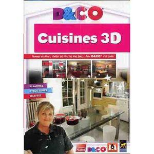 JEU PC D&CO CUISINES 3D / PC DVD-ROM