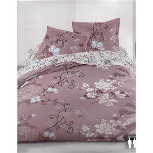 parure de lit multicolore achat vente parure de lit multicolore pas cher cdiscount. Black Bedroom Furniture Sets. Home Design Ideas