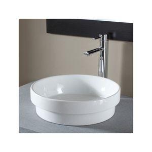 vasque a encastrer couleur achat vente vasque a encastrer couleur pas cher cdiscount. Black Bedroom Furniture Sets. Home Design Ideas