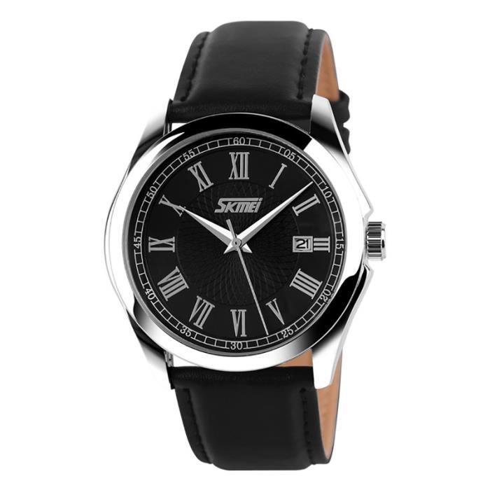 montre de luxe hommes skmei quartz montre bracelet occasionnels homme de plong e reloj 30m sport. Black Bedroom Furniture Sets. Home Design Ideas