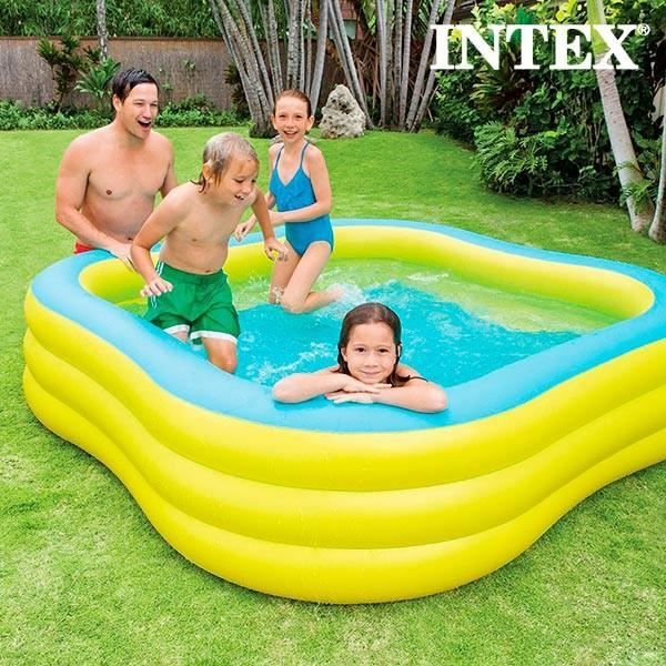 Piscine gonflable family intex achat vente pataugeoire cdiscount - Piscine gonflable cdiscount ...