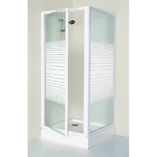 Porte de douche ad80sp 80x185 cm achat vente cabine de - Porte douche pivotant ...