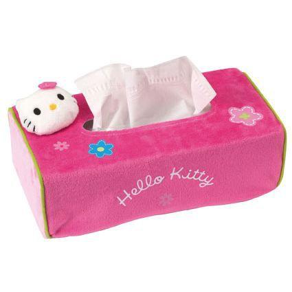 Jemini couvre boite mouchoir hello kitty achat vente boite de rangement cdiscount - Boite de mouchoirs personnalises ...