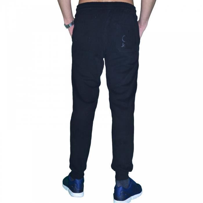 Calvin klein bas de jogging homme pants j3ej300202999 noir noir achat vente pantalon - Bas jogging homme ...