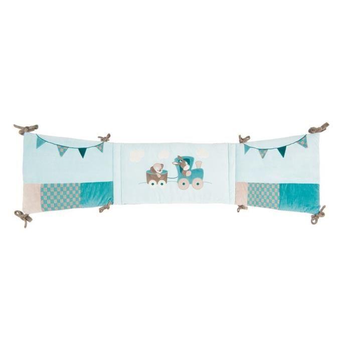 tour de lit nattou mod le gaston cyril bleu achat vente tour de lit b b 5414673111614. Black Bedroom Furniture Sets. Home Design Ideas