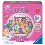 PUZZLE DISNEY PRINCESSES Puzzle 3D Palace Pets 108 pièces