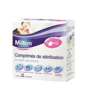 Comprimés de stérilisation