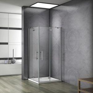 Cabine de douche 100 90 achat vente cabine de douche for Charniere porte de douche